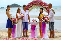 Marriage Traditional en Thailand